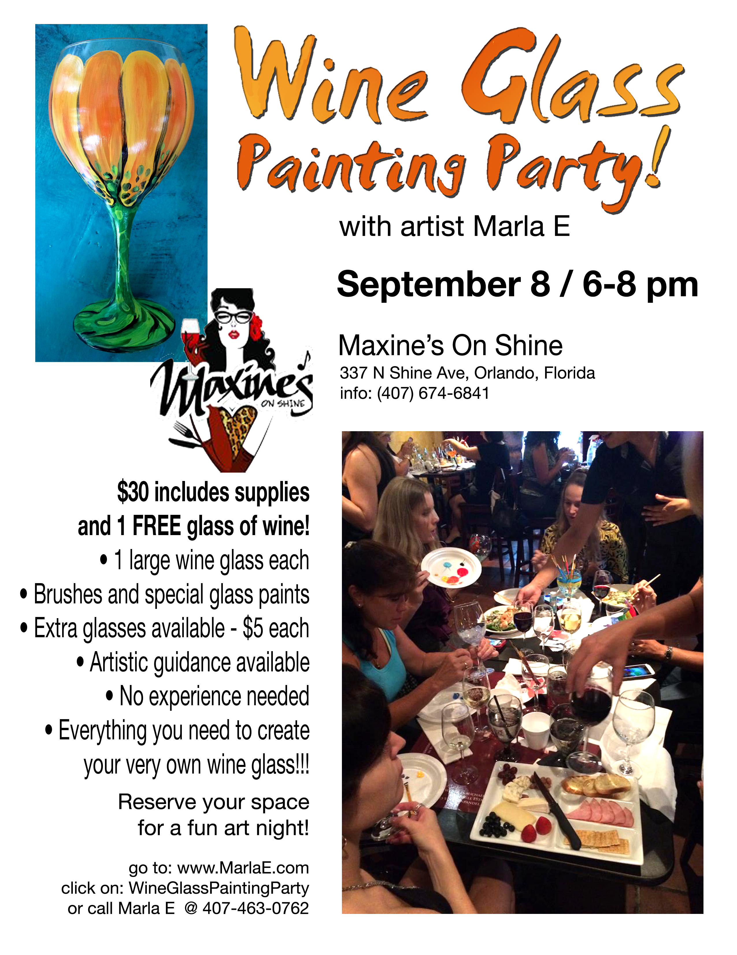 Wine and painting orlando mafiamedia for Wine and paint orlando